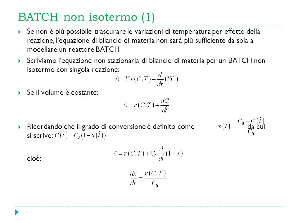 BATCH non isotermo (1)