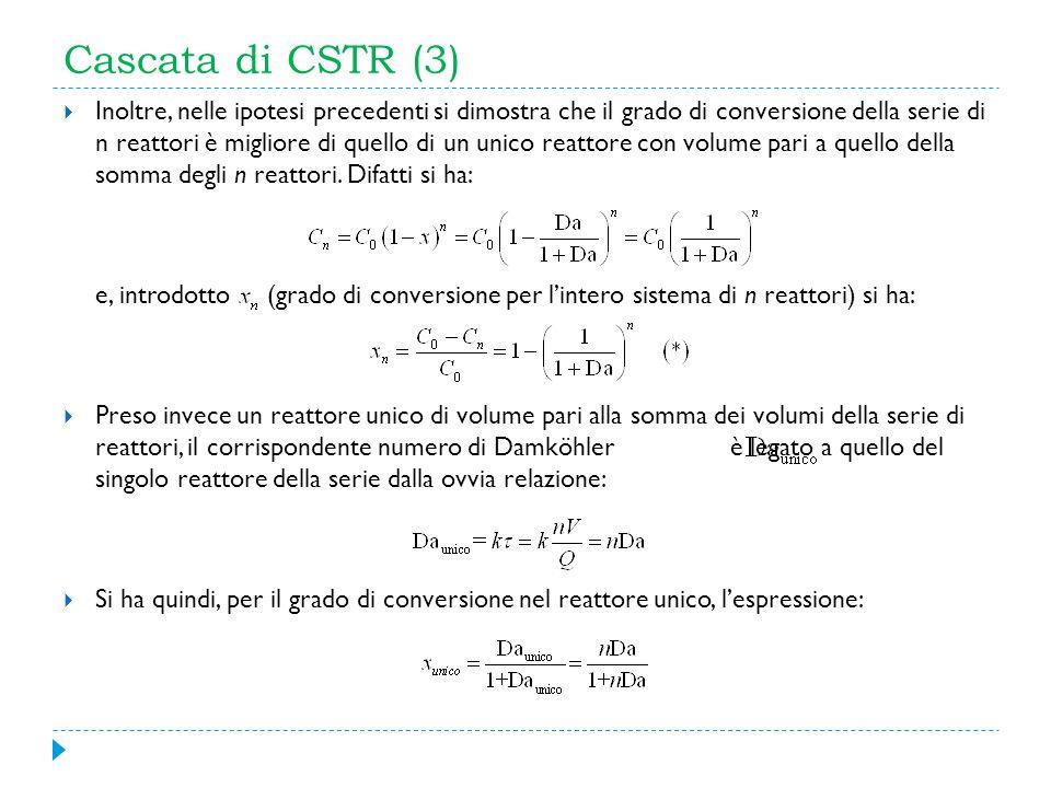 Cascata di CSTR (3)