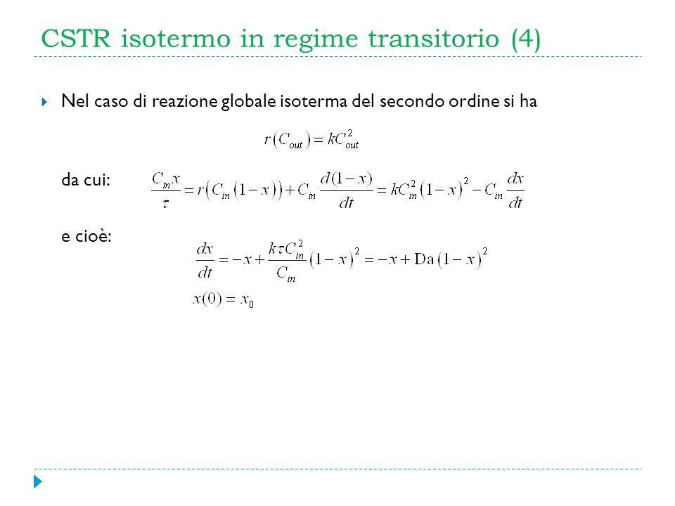 CSTR isotermo in regime transitorio (4)