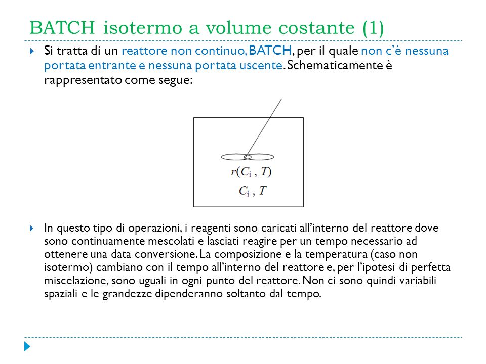BATCH isotermo a volume costante (1)