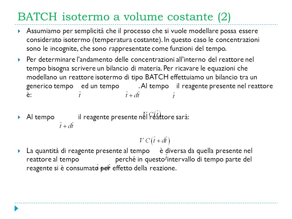 BATCH isotermo a volume costante (2)