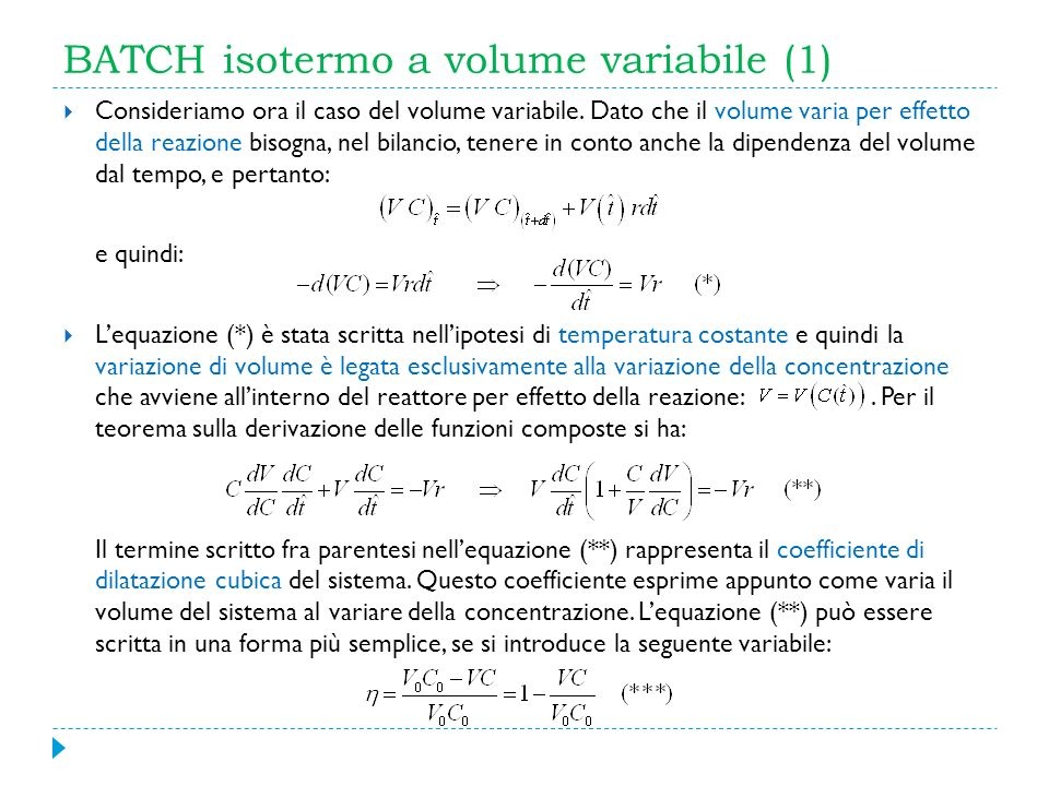 BATCH isotermo a volume variabile (1)