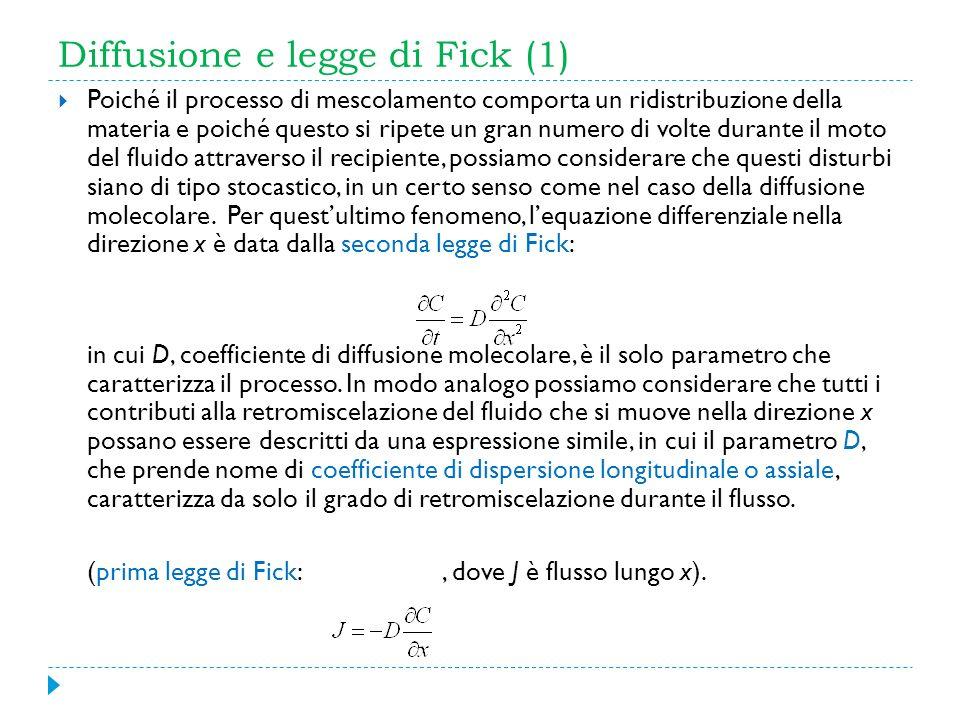 Diffusione e legge di Fick (1)