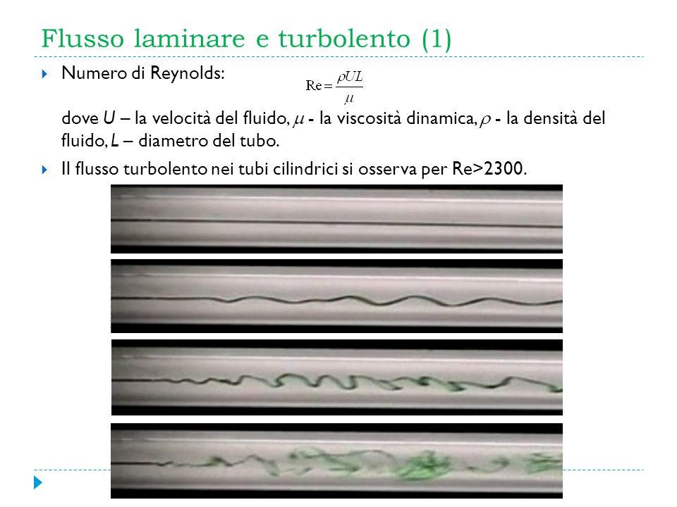 Flusso laminare e turbolento (1)