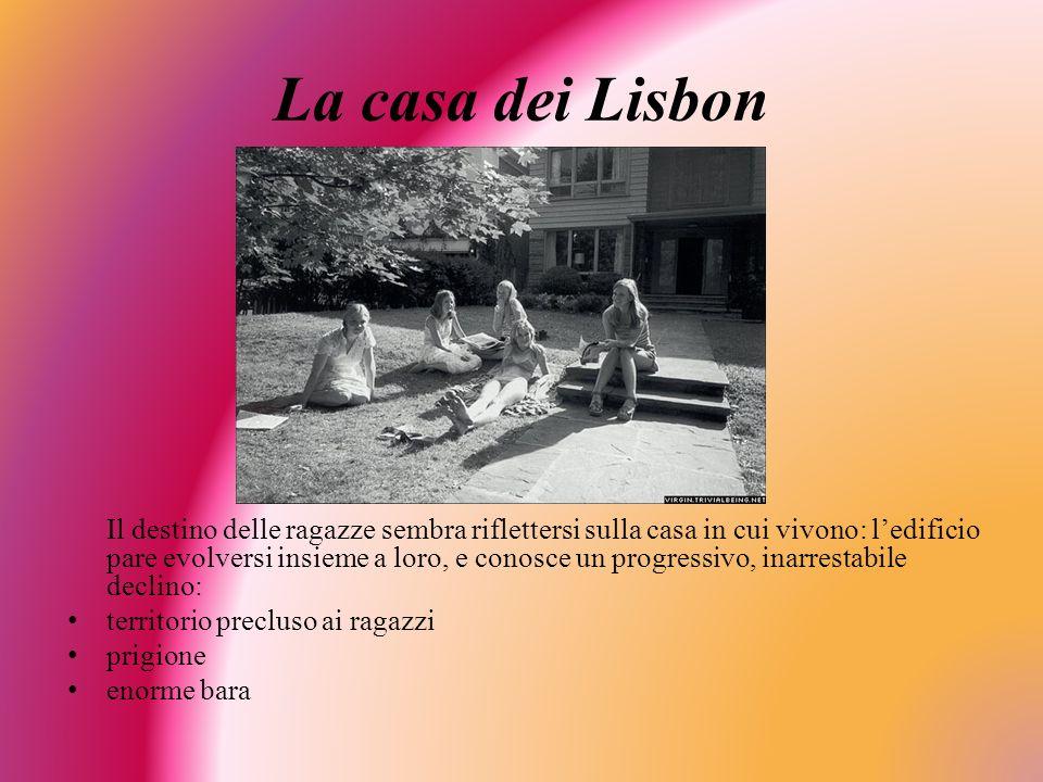 La casa dei Lisbon territorio precluso ai ragazzi prigione enorme bara