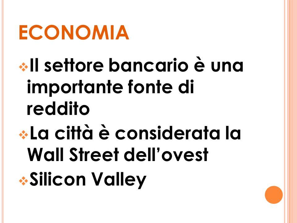 economia Il settore bancario è una importante fonte di reddito