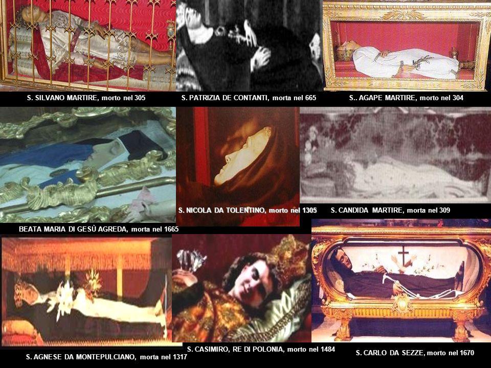 S. SILVANO MARTIRE, morto nel 305