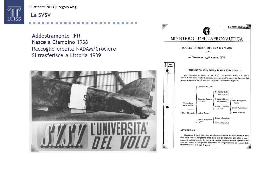 Raccoglie eredità NADAM/Crociere Si trasferisce a Littoria 1939