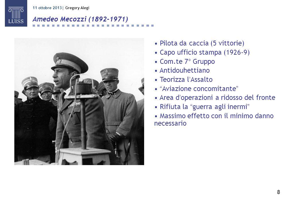 Pilota da caccia (5 vittorie) Capo ufficio stampa (1926-9)