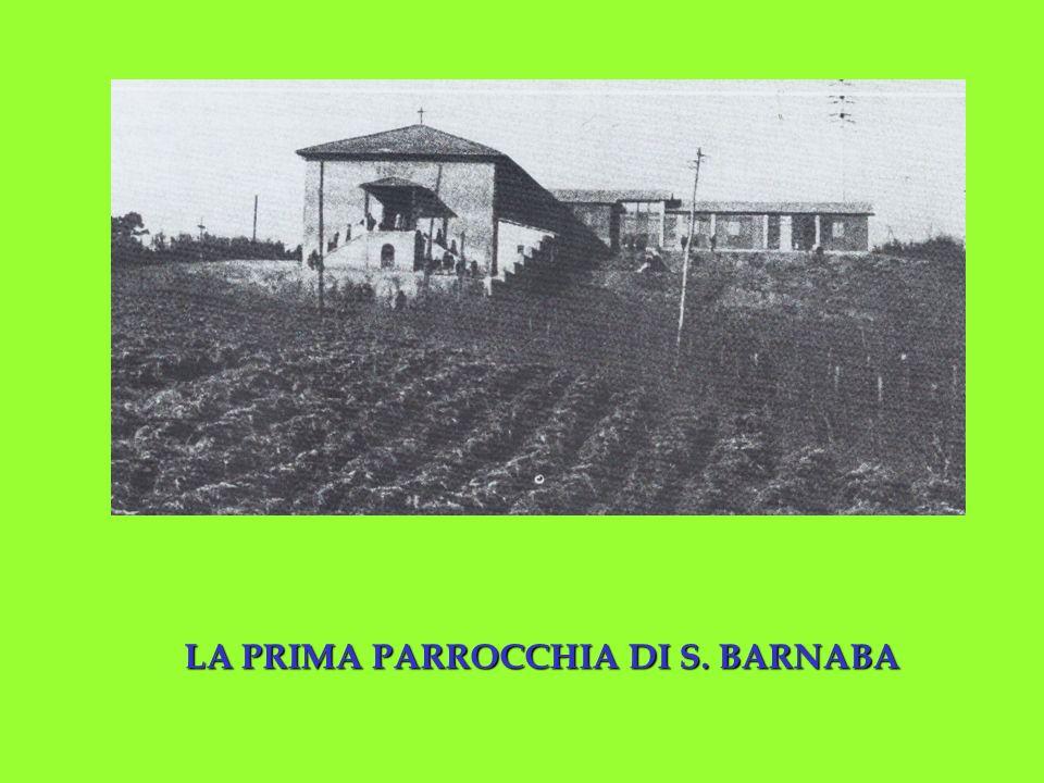 LA PRIMA PARROCCHIA DI S. BARNABA