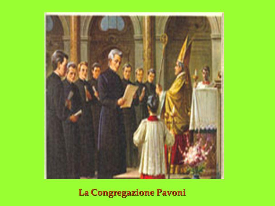 La Congregazione Pavoni