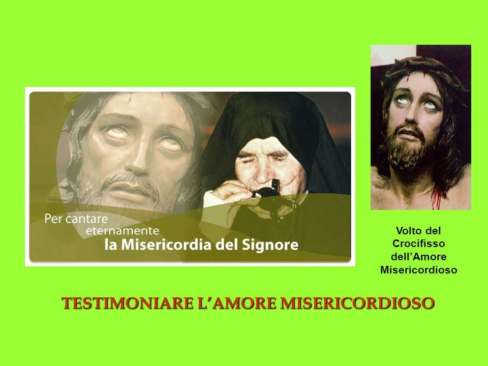 TESTIMONIARE L'AMORE MISERICORDIOSO