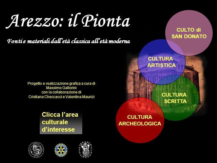Arezzo: il Pionta Fonti e materiali dall'età classica all'età moderna
