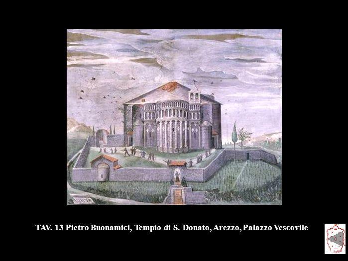TAV. 13 Pietro Buonamici, Tempio di S