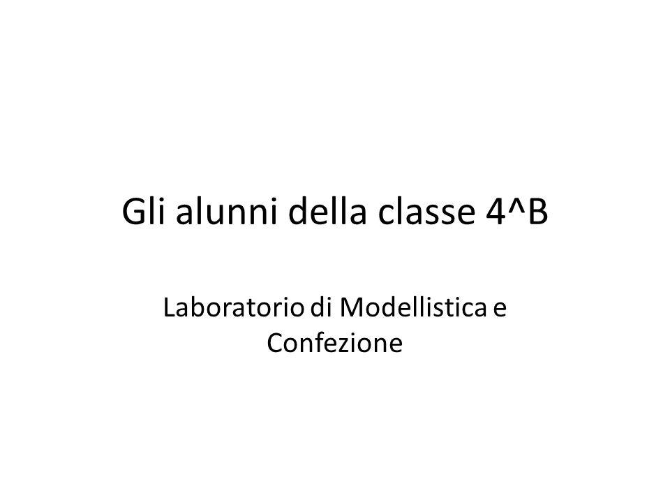 Gli alunni della classe 4^B