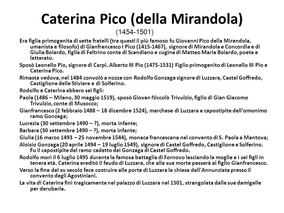 Caterina Pico (della Mirandola)
