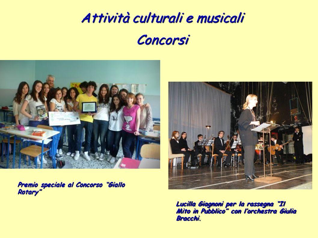 Attività culturali e musicali