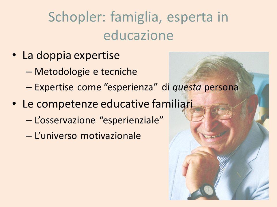 Schopler: famiglia, esperta in educazione