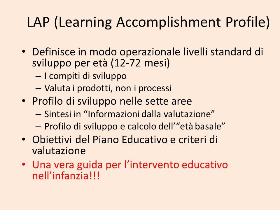 LAP (Learning Accomplishment Profile)