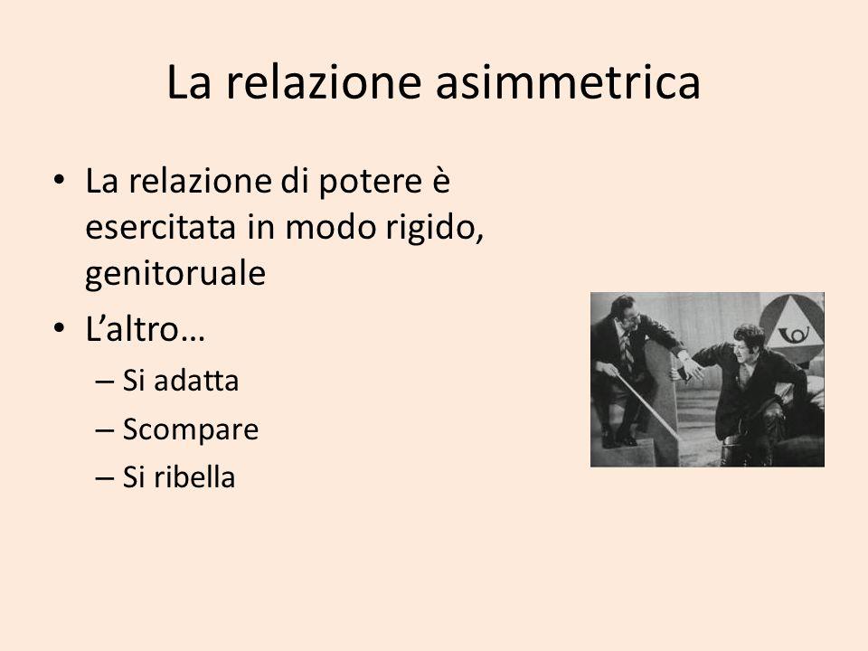 La relazione asimmetrica