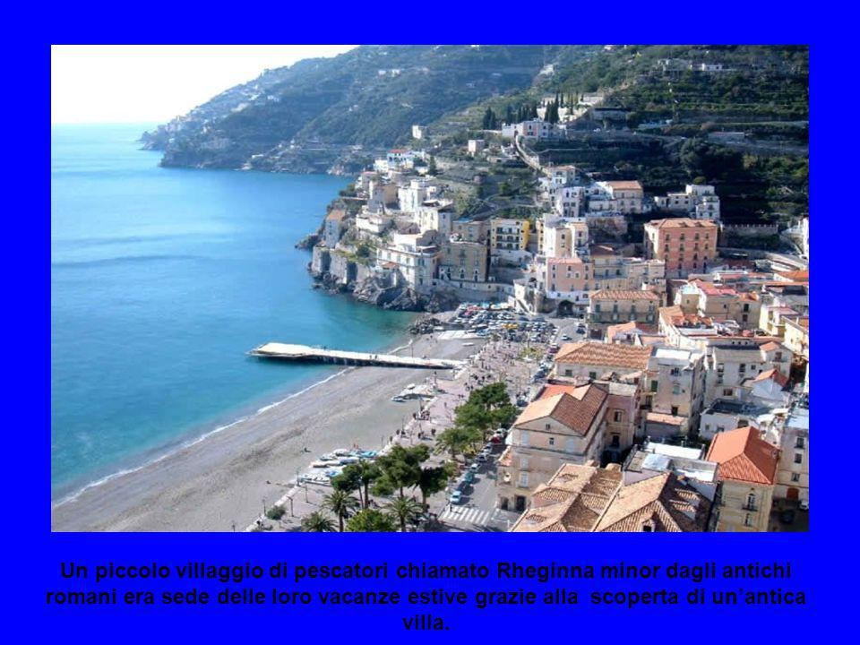 Un piccolo villaggio di pescatori chiamato Rheginna minor dagli antichi romani era sede delle loro vacanze estive grazie alla scoperta di un'antica villa.