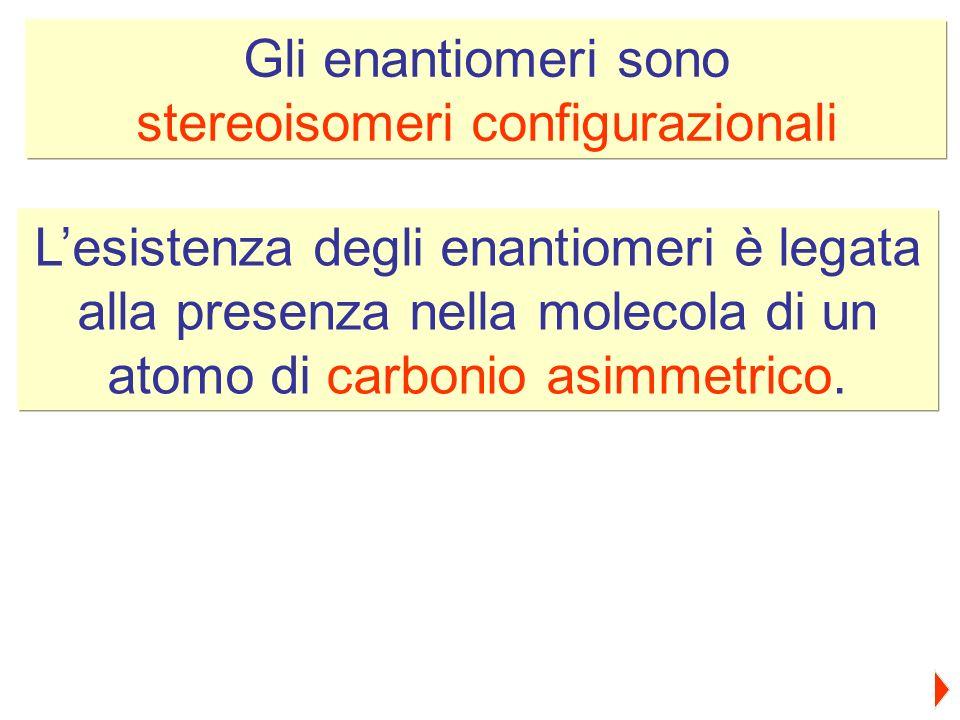 stereoisomeri configurazionali
