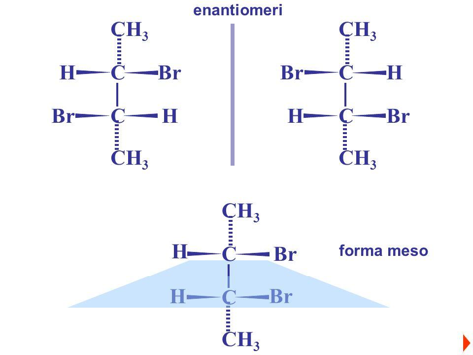 enantiomeri Br H C CH3 H Br C CH3 H Br C CH3 forma meso