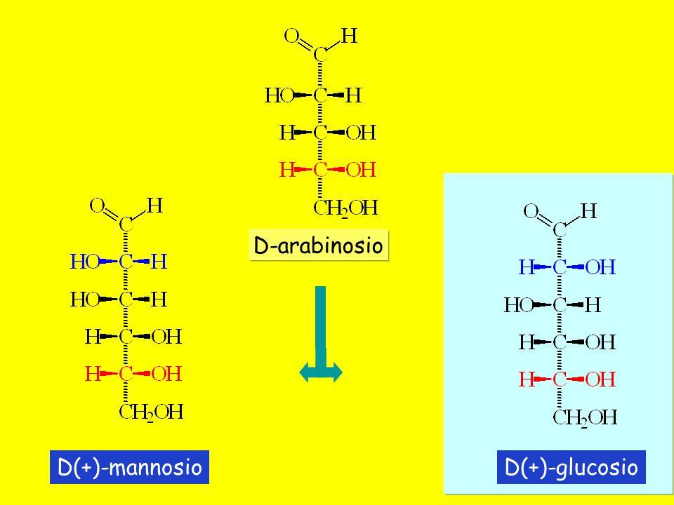 D-arabinosio D(+)-mannosio D(+)-glucosio