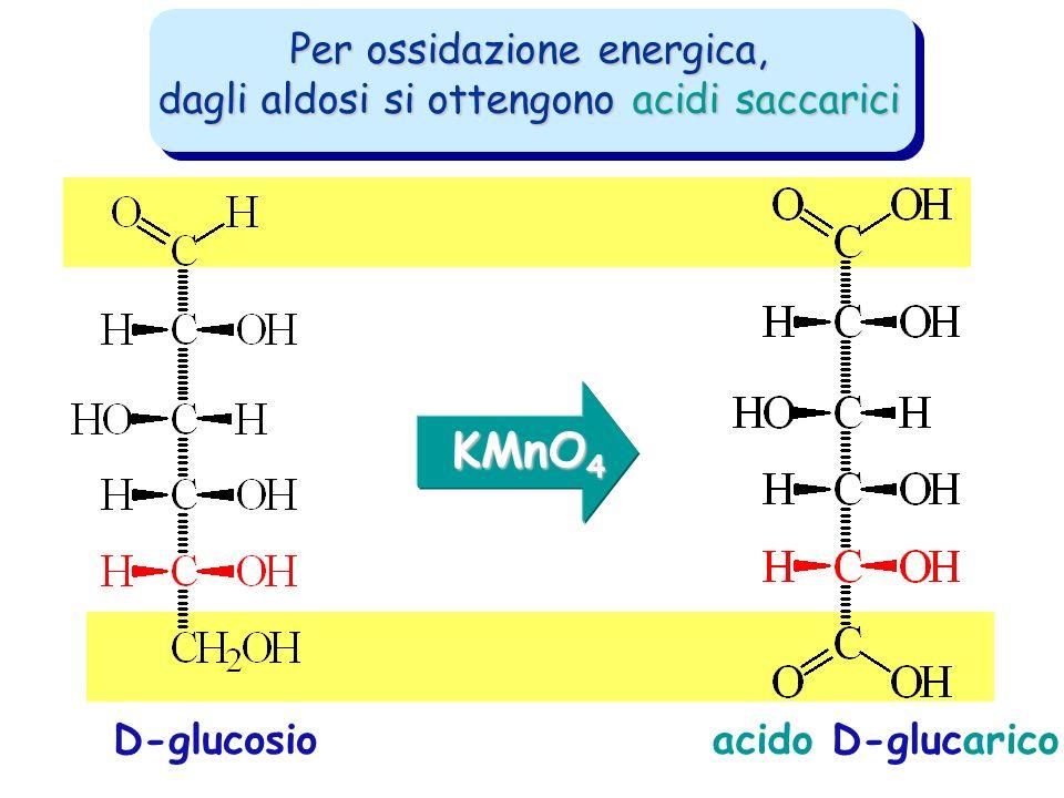KMnO4 Per ossidazione energica,