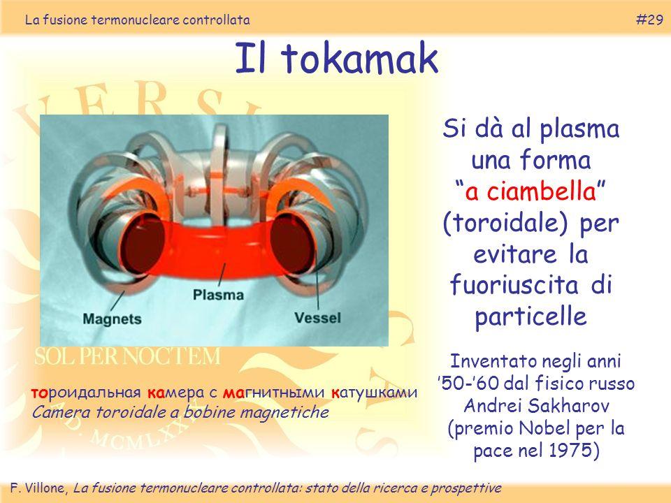 La fusione termonucleare controllata