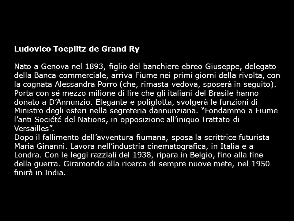 Ludovico Toeplitz de Grand Ry