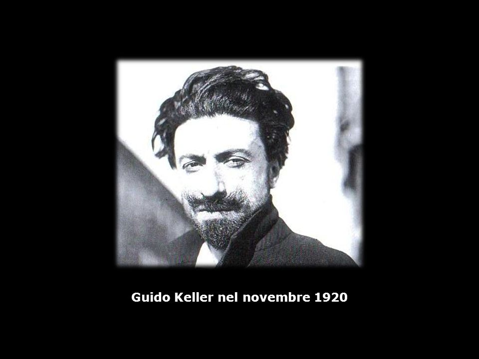 Guido Keller nel novembre 1920