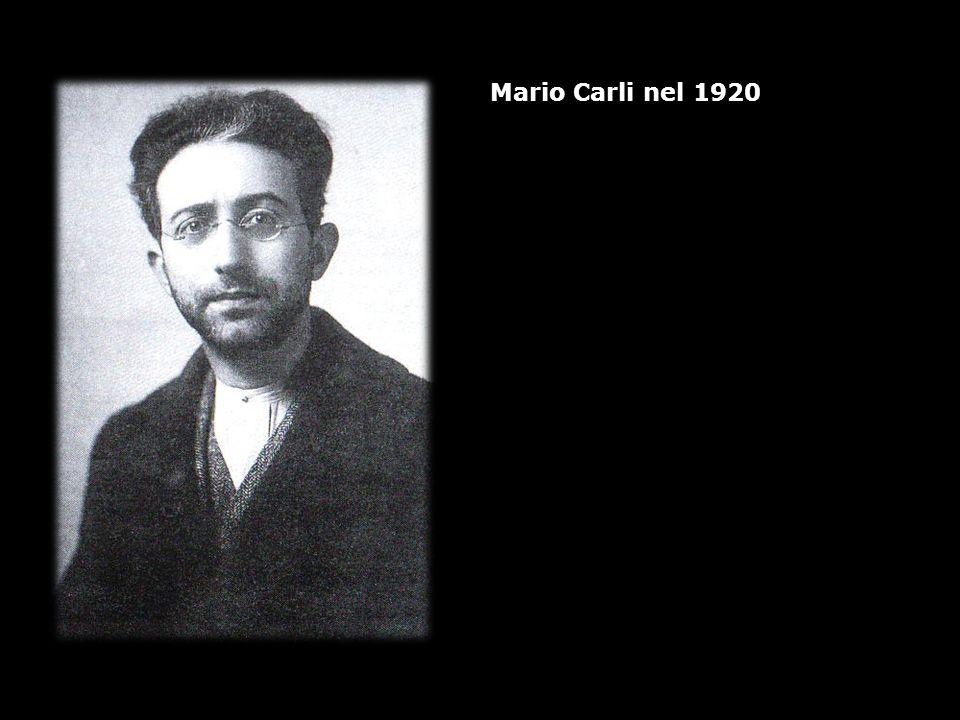 Mario Carli nel 1920