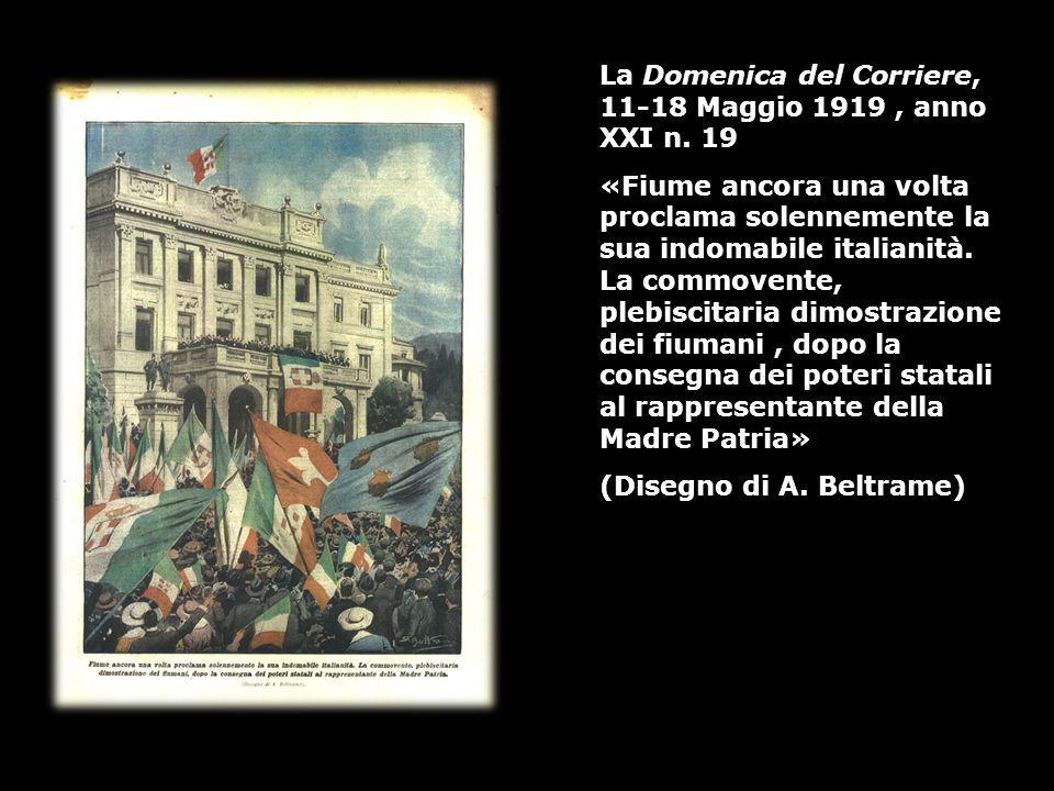 La Domenica del Corriere, 11-18 Maggio 1919 , anno XXI n. 19