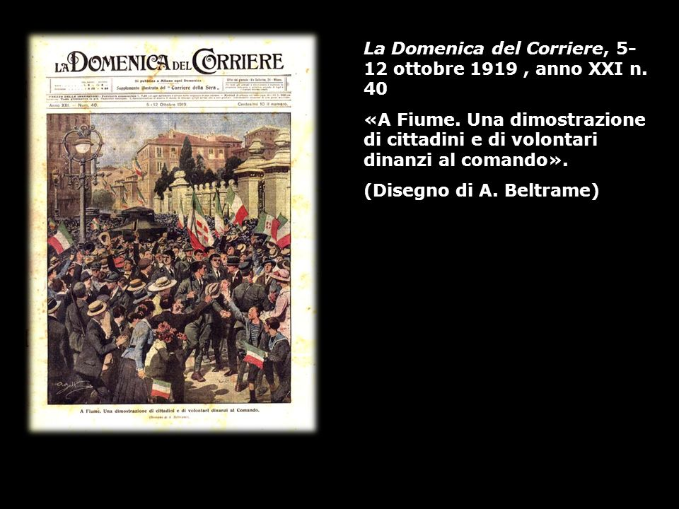 La Domenica del Corriere, 5-12 ottobre 1919 , anno XXI n. 40