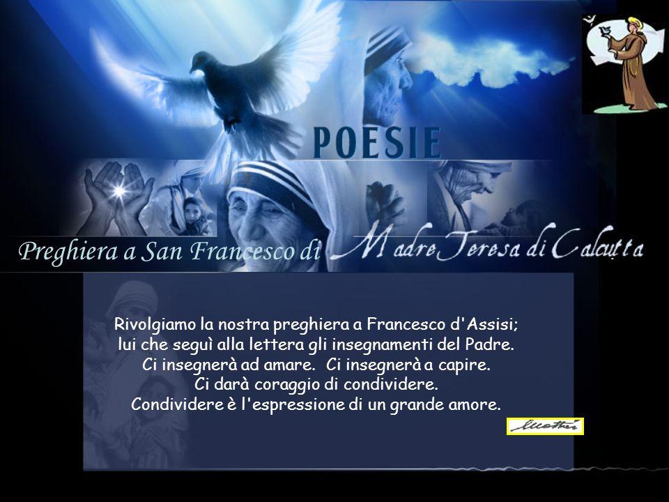 Preghiera a San Francesco di .