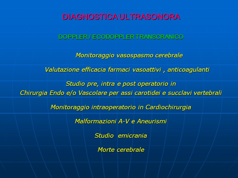DIAGNOSTICA ULTRASONORA