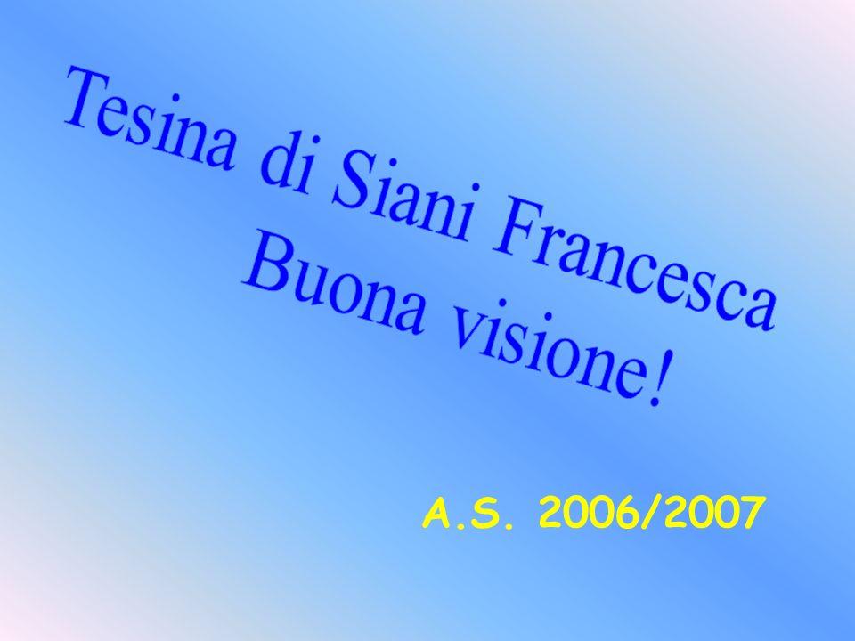Tesina di Siani Francesca