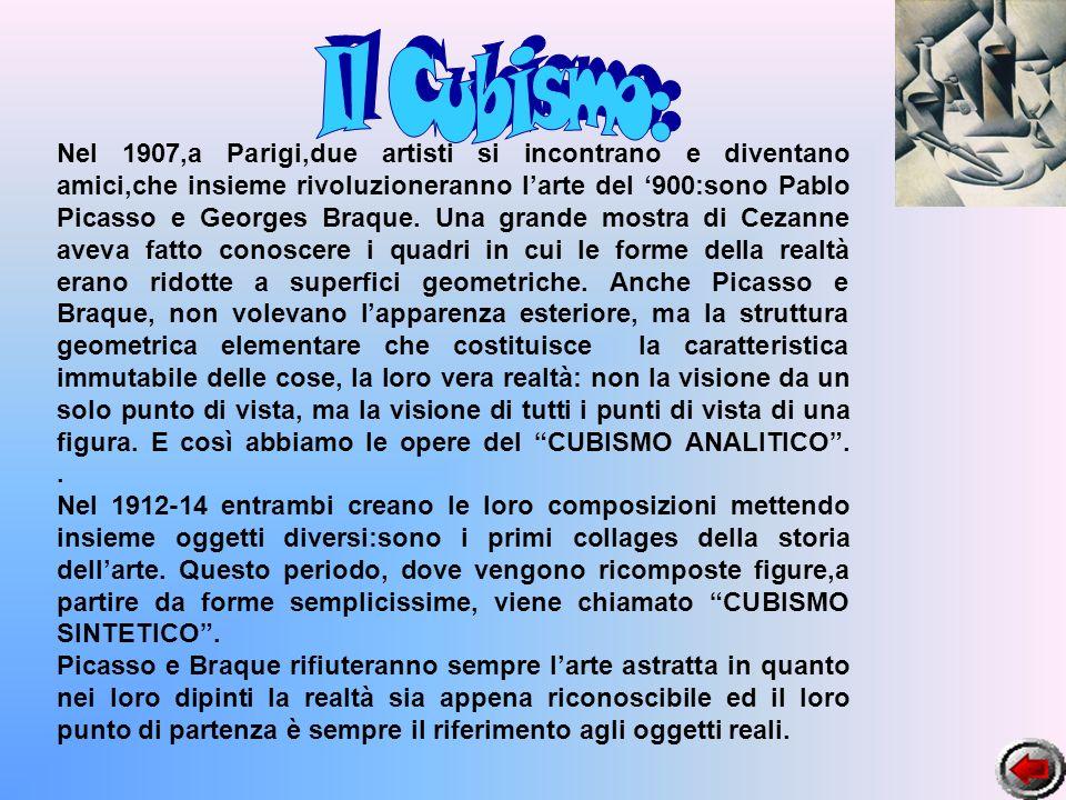 Il Cubismo: