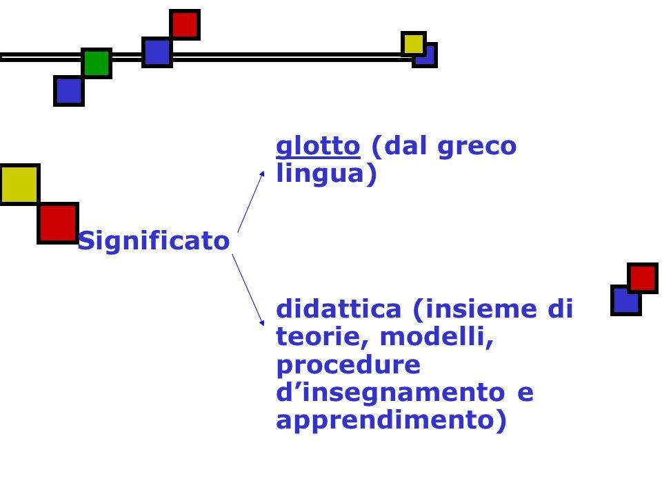 glotto (dal greco lingua)