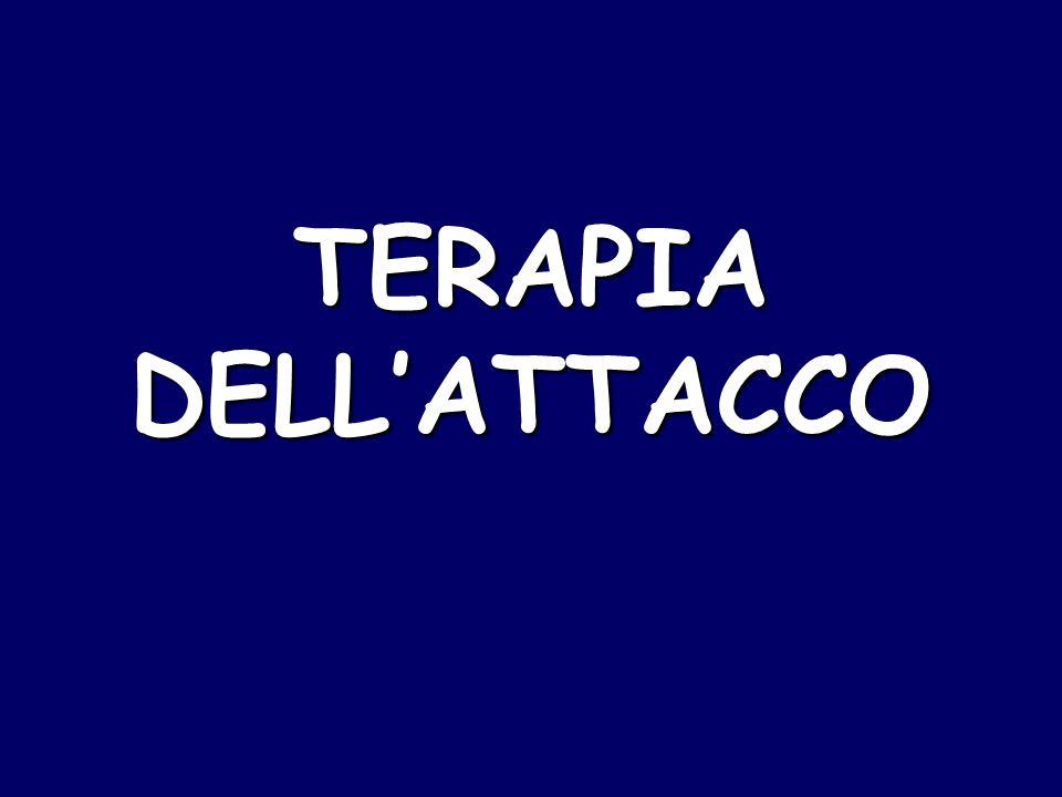 TERAPIA DELL'ATTACCO