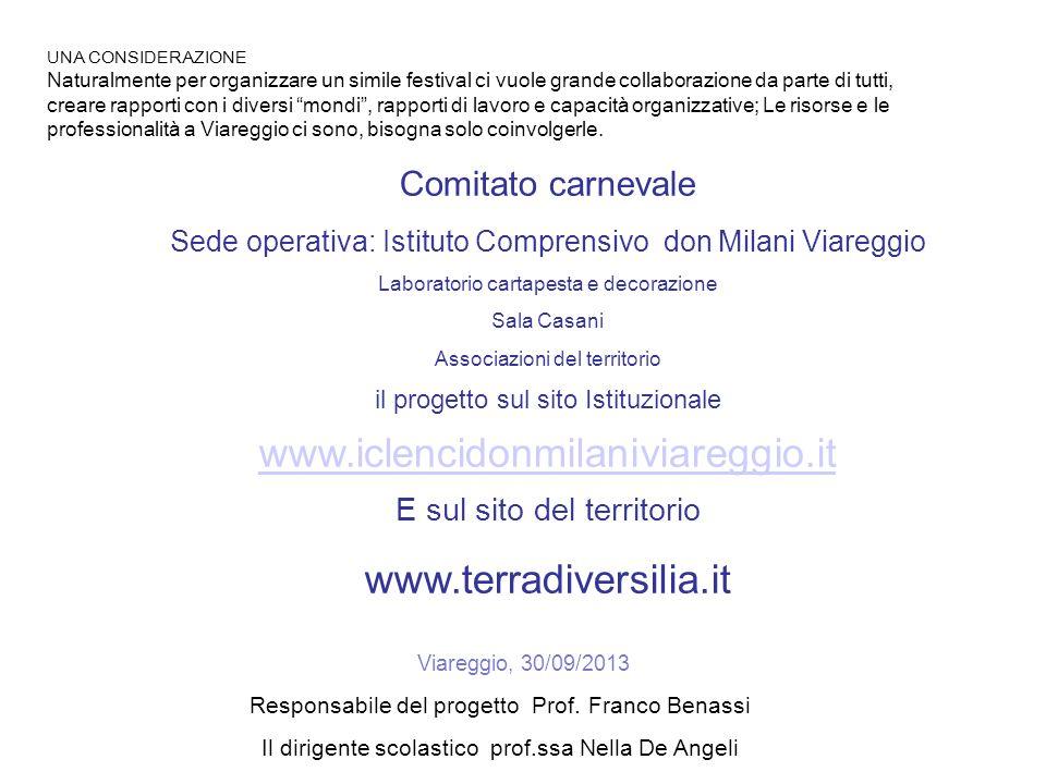 www.iclencidonmilaniviareggio.it www.terradiversilia.it