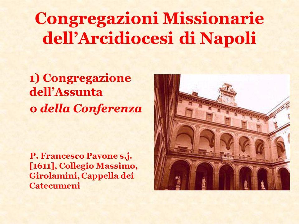 Congregazioni Missionarie dell'Arcidiocesi di Napoli