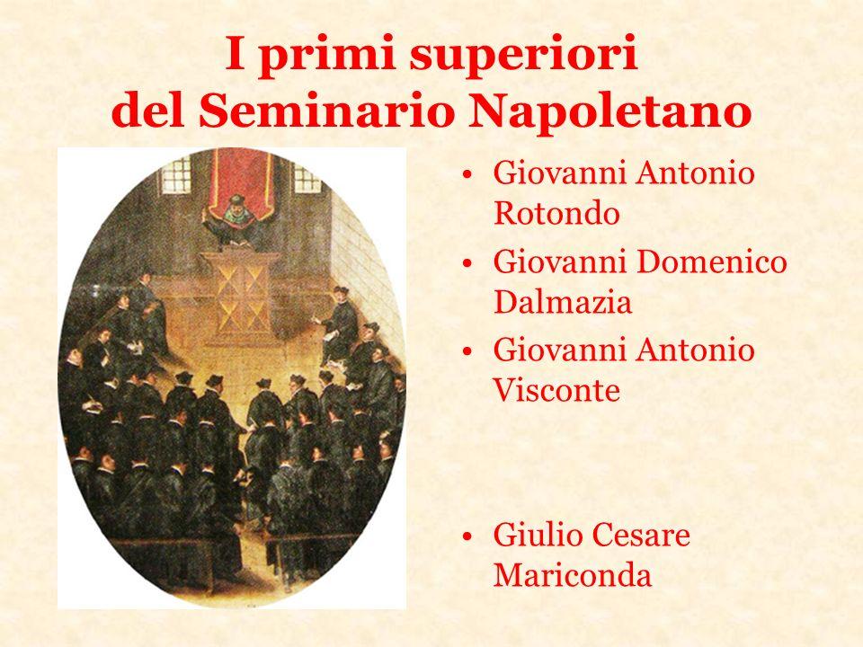 I primi superiori del Seminario Napoletano