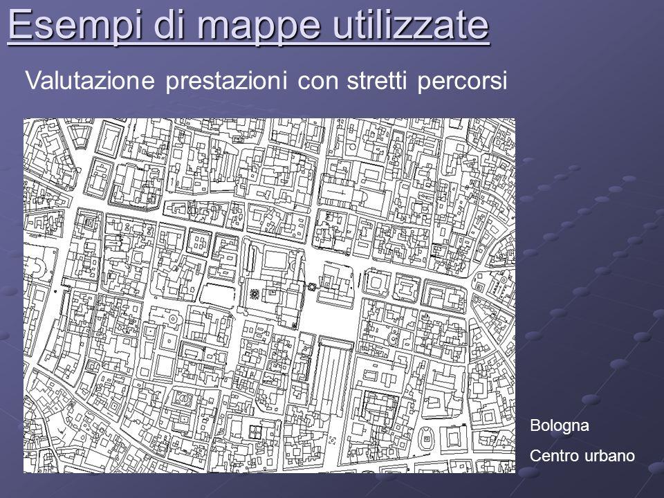 Esempi di mappe utilizzate