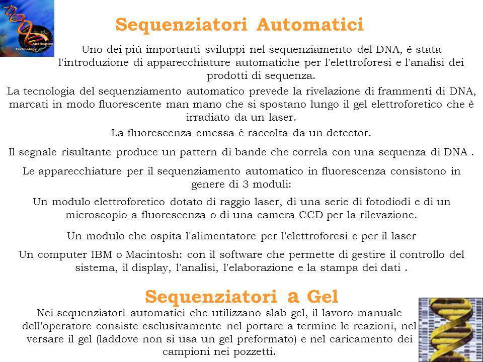 Sequenziatori Automatici