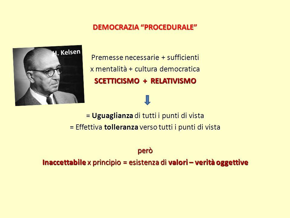 DEMOCRAZIA PROCEDURALE