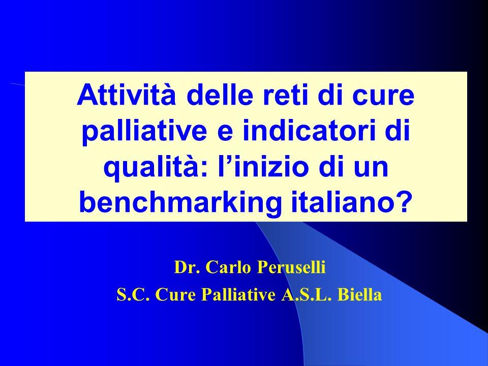 Dr. Carlo Peruselli S.C. Cure Palliative A.S.L. Biella