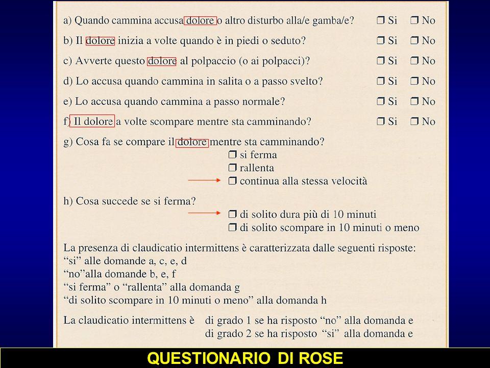 QUESTIONARIO DI ROSE