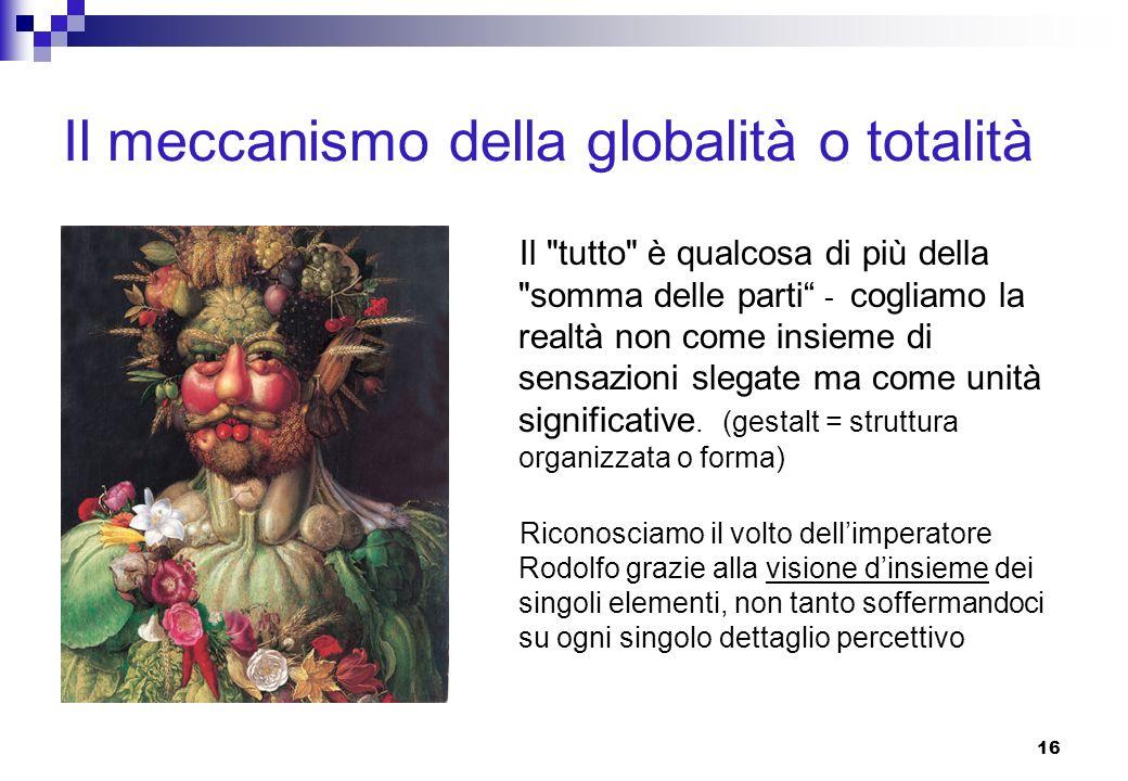 Il meccanismo della globalità o totalità